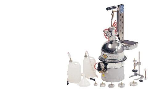 Пневматические установки предназначены для замены тормозной жидкости, промывки и прокачки под давлением тормозной...