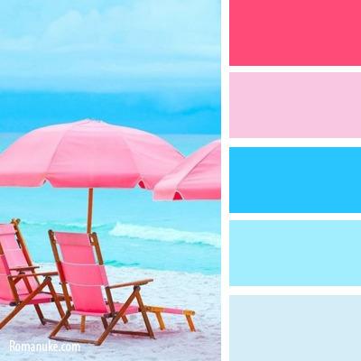 С каким цветом голубой сочетается