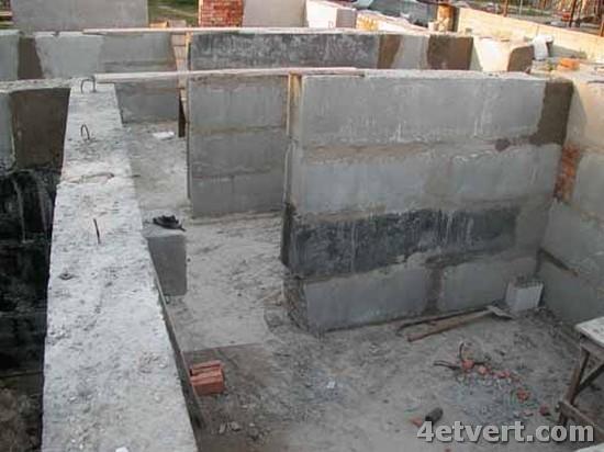 Фундамент из фундаментные блоки своими руками