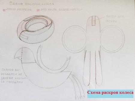 Поделки для детской площадки схемы как разрезать