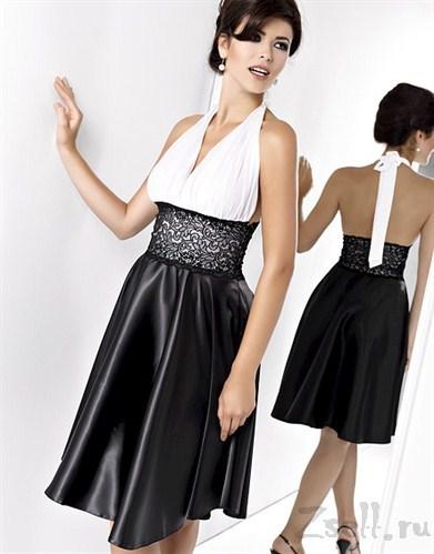 Какой платье сшить из атлас