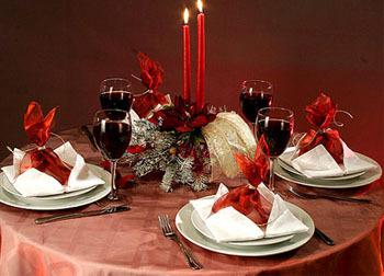 Украшение стола для нового года с пошаговым фото