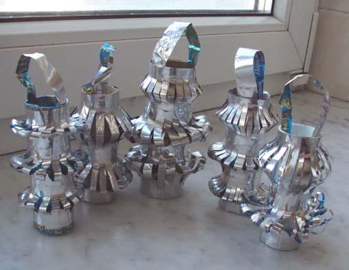 Новогодние украшения для дома из подручных материалов