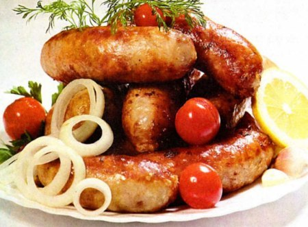 Колбаски домашние из свинины рецепт с фото