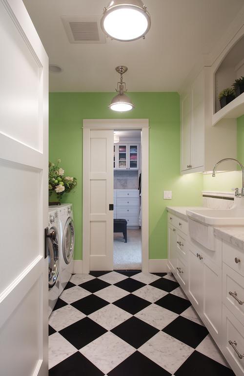 Кухня цвета лайма в интерьере