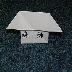Какие фигурки можно сделать из бумаги без клея и ножниц?
