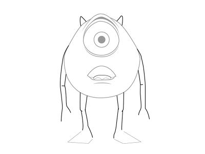 Персонажи из мультфильмы рисовать