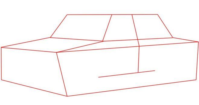 рисунки ваз 2106 карандашом: