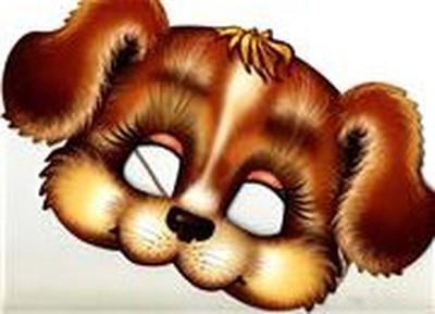 Как сделать маску собаки своими руками