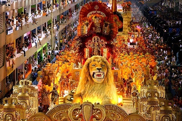 Бразильский карнавал 2017. Рио-де-Жанейро