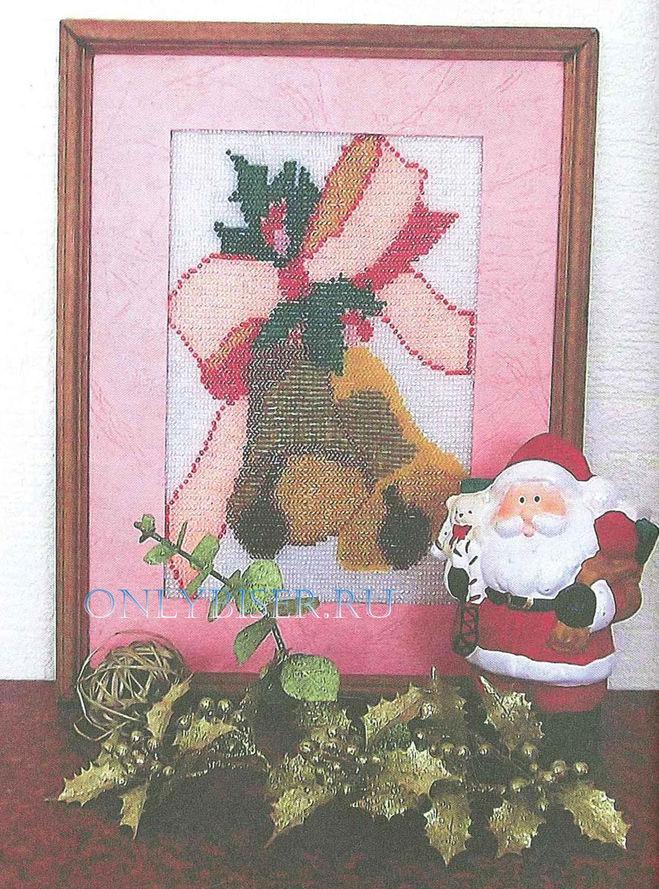 панно-рождественские-колокольчики.