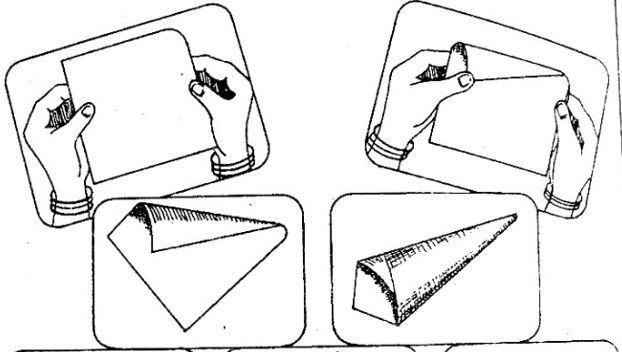 Конус из картона своими руками схема 41