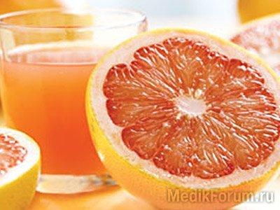 лекарства и грейпфрутовый сок