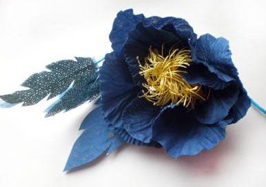 Цветы из ткани своими руками пошагово для