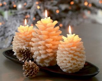 Сделать свечу к новому году