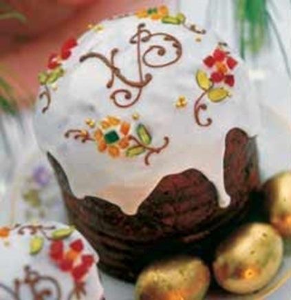 Красивое украшение куличей своими руками Рецепты дня с фото