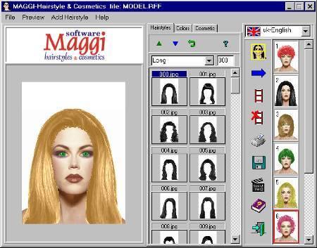 Подобрать цвет волос фотошоп онлайн на русском