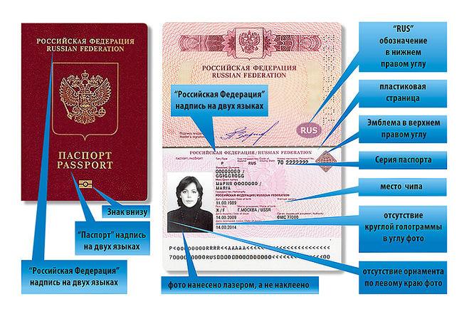 Как выглядит биометрический загранпаспорт?
