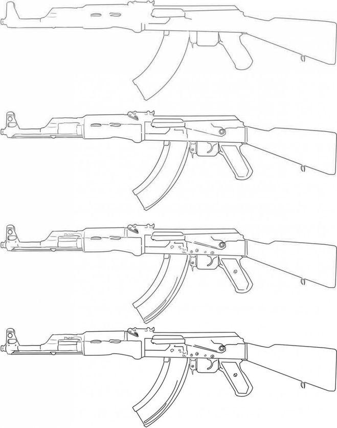 рисунки ак 47: