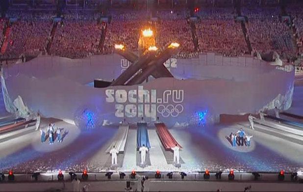 Какие песни звучали на открытии Олимпиады?
