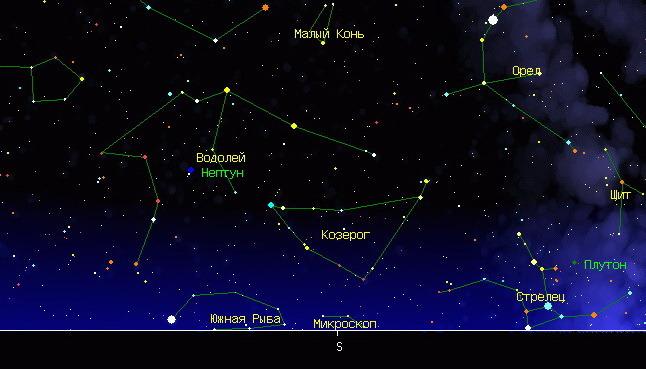 Где Можно Увидеть Созвездие Козерог