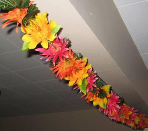 Как сделать гавайскую гирлянду своими руками