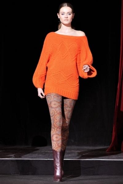 с чем носить трикотажный свитер