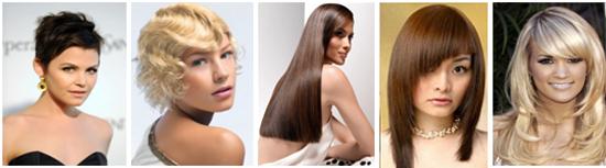 какие прически в моде 2012 женские фото