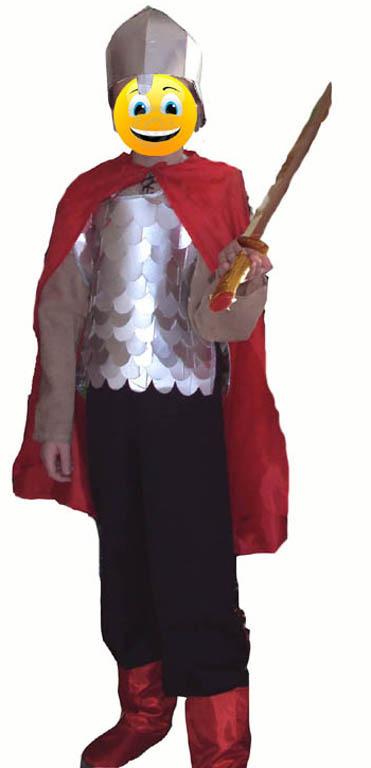 Сшить костюм богатыря для мальчика своими руками