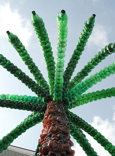 Как сделать пальму из полторашек фото 392