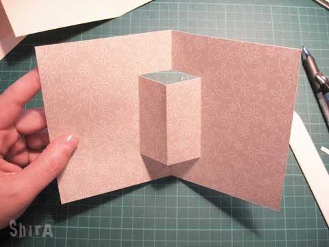 Как делать из картона открытки