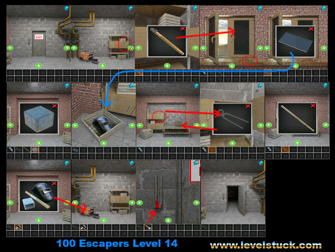 Как открыть дверь в игре 100 дверей 13 дверь