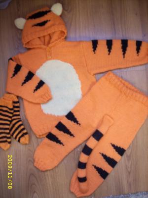 Новогодний тигр своими руками 106