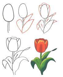 Картинка на 8 марта нарисованные
