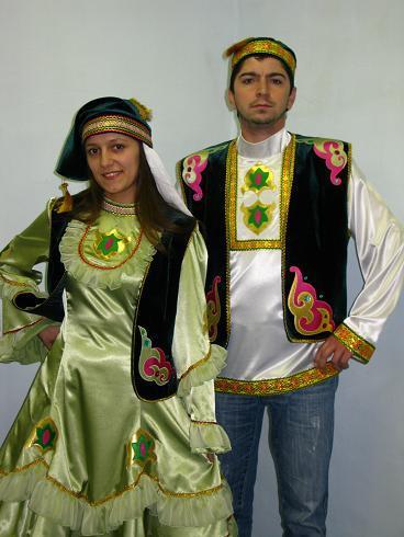татарский костюм.