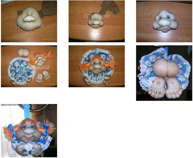 Ребенок кукла своими руками с фото пошаговое