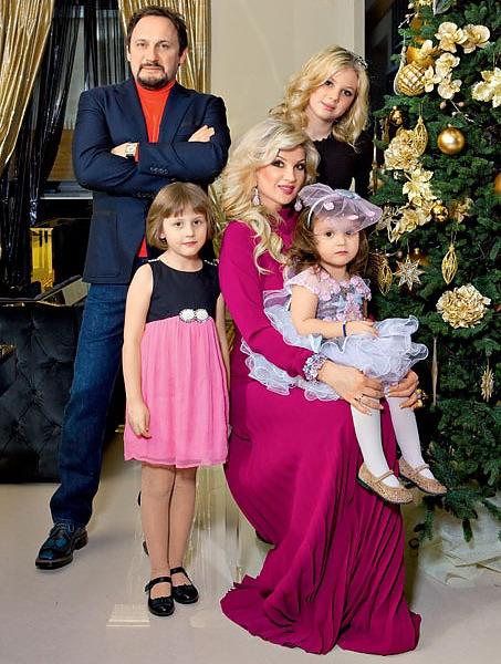 стас михайлов и его жена дети фото