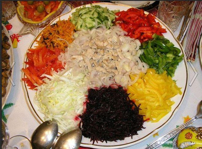 салат с кириешками рецепт с грудкой