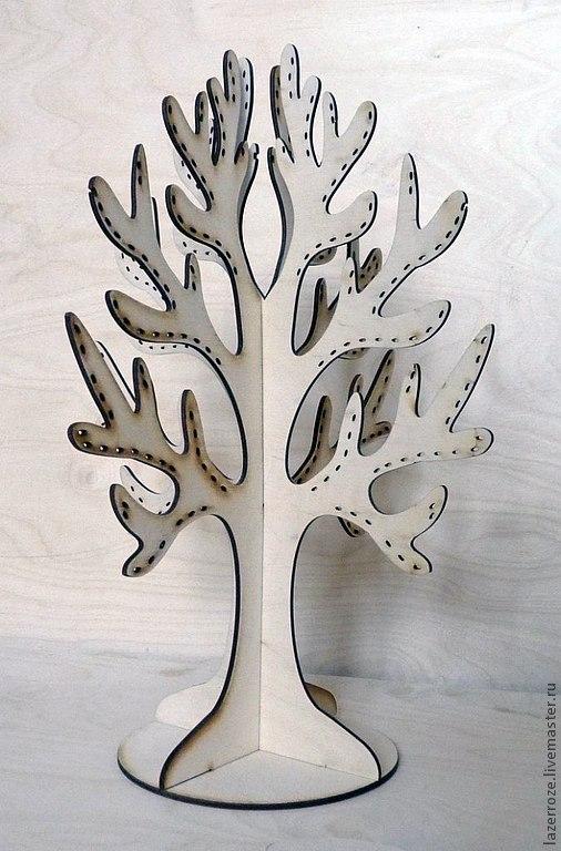 Как сделать из дерево из картона