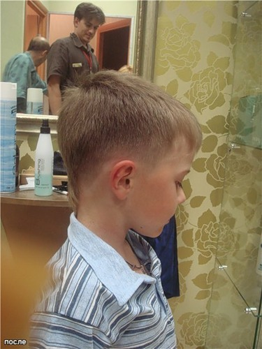 Стрижки волос для мальчика