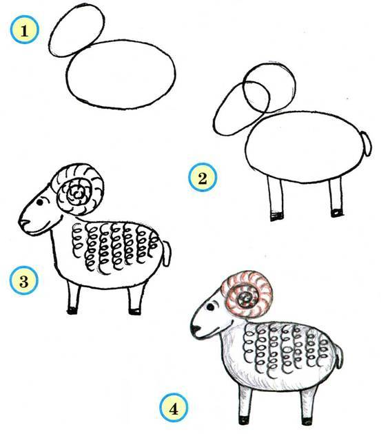 Как нарисовать барона поэтапно