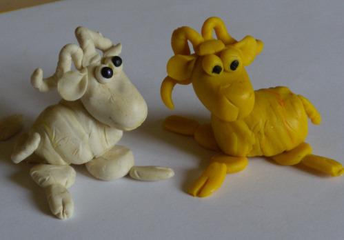 Овца и коза своими руками поделки