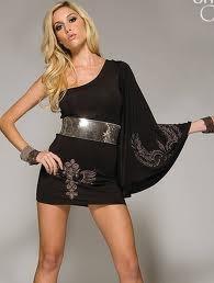Сшить платье с одним плечом для девочки с