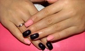 Накрасить ногти разным цветом фото