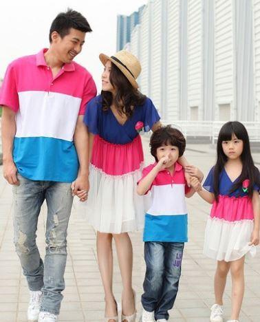 Одежда Для Семьи В Одном Стиле