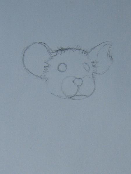 Как рисовать животных собаку