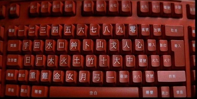 Рисовать китайский клавиатура