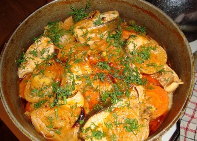 Рыба в мультиварке с овощами рецепты с фото