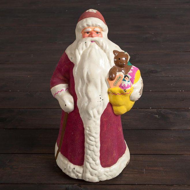 Дед мороз из папье-маше своими руками мастер класс фото