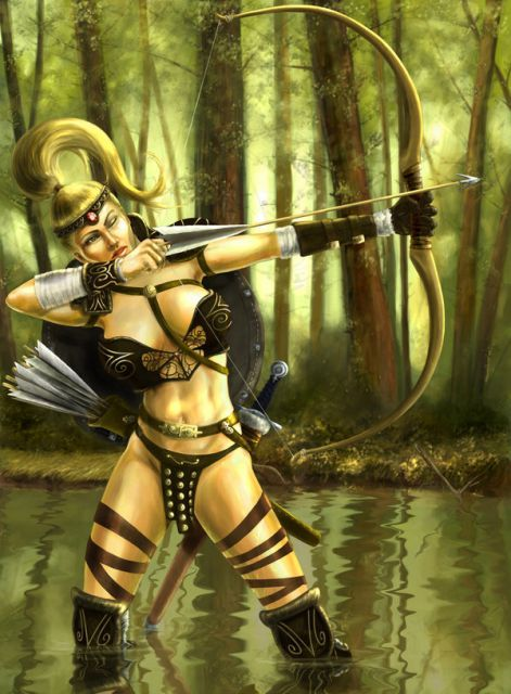 Сексуальные амазонки амазонки